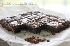 Best Ever Fudgey brownies ( eggs, coconut sugar, vanilla, coconut oil, dark choc, almond meal, Chinese 5-spice)