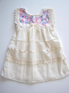 Adorable little dress! Handmade in Mexico