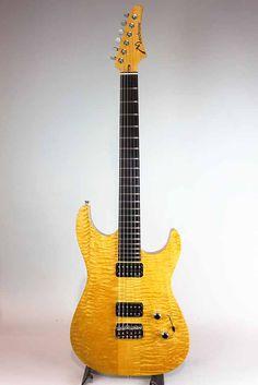 Marchione Guitars[マルキオーネ ギターズ] Neck Through Figured Maple Body 1999|詳細写真