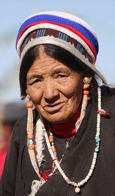 Tibetan grandma #Tibetan # Tibetan art