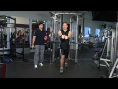 Source From: http://youtu.be/Wa6dCuDAXf0    Professor Ken Baldwin and recipient of IDEA's Personal Trainer of the Year Award instructional video on analyzing and performing a Standing Cable Chest Fly Movement correctly. #posture #chest #exercise #workout #fitness http://www.npionline.org/