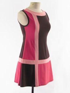 pink red mod dress - Google Search