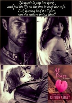 My absolute favorite read of Kristen Ashley's! 'At Peace' The 'Burg #2 = ♥♥♥ http://amzn.to/1RYmpYA