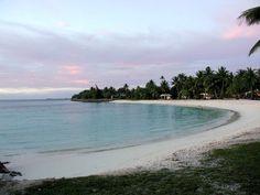 Evening at Emon Beach, Kwajalein, RMI, The Marshall Islands