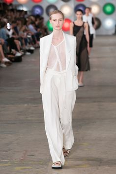 Designer Jason Wu shows his spring 2017 women's collection.