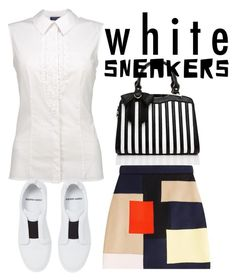 """""""SNEAKERS"""" by masayuki4499 ❤ liked on Polyvore featuring Pierre Hardy and MSGM"""