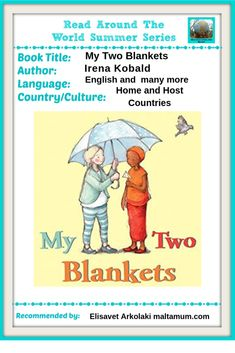 Picture Book Review – My Two Blankets : Maltamum Origami Shapes, School Vacation, Smile And Wave, Kids On The Block, Book Title, New Words, Great Books, Book Lists, Book Review
