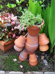 Great flower pot man.