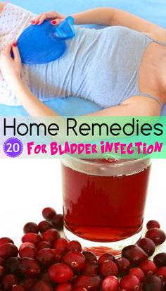 20 Home #Remedies for #Bladder infections