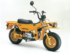 Honda Motra 1982. I never knew this even existed! Very cool!