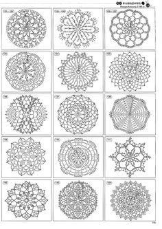 Beautiful crotchet patterns