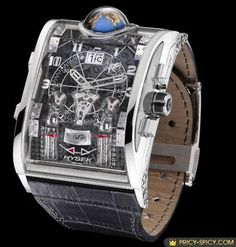 Hysek's Colosso is world's most expensive watch, it costs $550,000.