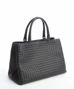 Bottega Veneta: navy intrecciato nappa leather 'Milano' bag For my money, this is one of the best accessory lines on the market! Great quality, reasonable prices and consistently great styles, year after year... Loyal customer!! :)