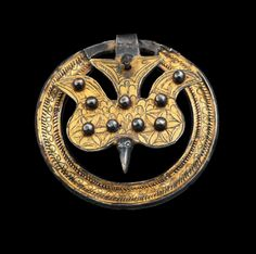 European belt ornament, ca 6th century A.D.
