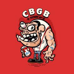 """CBGB - Skinhead"" Remember the good ol Days. Black Rebel Art Weirdo Skinhead straight from the Gut! Rock Tattoo, Rude Boy, Rocker, Skinhead, Pinstriping, Ol Days, Way Of Life, Doc Martens, Graffiti Art"