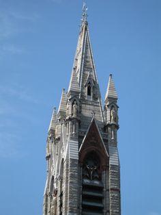 Church spire Dublin, Ireland