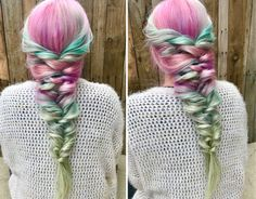 Pulled Back Hairstyles, Braided Hairstyles, Wedding Hairstyles, Diy Wedding Hair, Bridal Hair, Beach Waver, Faux Braids, Tail Hairstyle, Hair And Nails