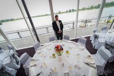 Groom overlooking the reception room before wedding guests arrive #wedding #brideandgroom #weddinginspo #weddingideas #weddingvenue #melbournevenues #melbournefunctions #melbournewedding #tablesetting #weddingtable