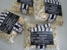 Gift and Art: Invitation to theme party Cinema!