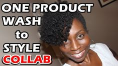 One Natural Hair Product Challenge: Wash to Style: Collab with NaturalHa...