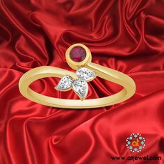 """Leave A Little Sparkle Wherever You Go. #Atjewel #Rings #Diamond #EngagementRing #Gold  """"COBRE DIAMOND RING"""""""