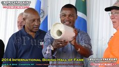 FELIX 'TITO' TRINIDAD Boxing Hall of Fame: FIST CASTING Ceremony (VIDEO)
