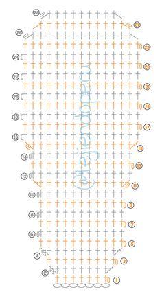 Crochet Socks Pattern, Crochet Edging Patterns, Crochet Diagram, Crochet Stitches, Crochet Shoes, Crochet Baby Booties, Crochet Slippers, Diy Crochet, Sewing Slippers