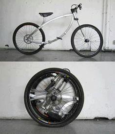 ... und noch ein Klapp-Fahrrad