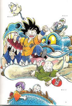 ⭐⭐⭐ ✎ Les tout début de « Dragon Ball » et qui deviendra un Succès Mondiale Planétaire ⭐⭐⭐ ~ [㊗_Dragon_Ball_㊗]