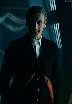 """I can imagine him saying """"Well..."""" <3 Love Peter Capaldi as the 12th Doctor, one of the best I do believe."""