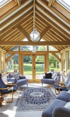 With many homeowners choosing to extend their properties rather than move, an oak garden room is ideal… Garden Room, House Design, Garden Room Extensions, Timber Frame Homes, Oak Frame House, Timber Framing, Oak Framed Buildings, Oak Framed Extensions, Thatched Cottage