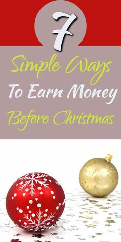 Need to earn some extra money for Christmas? Here are some ways to earn extra money leading up to Christmas | Making Money | Christmas | Earn Extra Money #christmas #earnmoney