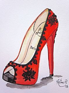 Illustration | Christian Louboutin