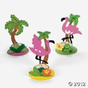 Palm Tree & Flamingo Tealight Holders