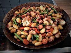 Gnocchi-Gemüse-Pfanne mit Mettbällchen, ein beliebtes Rezept aus der Kategorie Braten. Bewertungen: 229. Durchschnitt: Ø 4,3.
