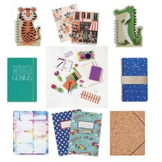 Make sure to be paper ready with these fun and playful note pads