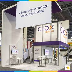 We installed an exhibit for Ciox Health at HIMSS that demonstrated how managing health information enables greater health. Our multidimensional design powerfully delivered the message that Ciox Health has a better way to manage health information.