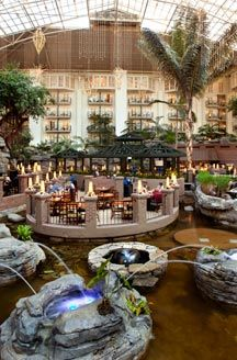 Gaylord Opryland Hotel    Nashville, Tennessee.