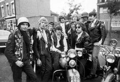 "Mickey Roache and the Canning Town""Hells Angels, London, July 1969."