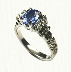Celtic Engagement Rings: 'Butterfly Love Knot'