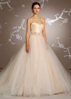 2010 season. Dress by Lazaro, sold at Kleinfeld