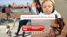 Dear Dada The not on Tour Diaries You supported Elton John  Another weekend vlog in our Dear Dada series This weekend was a fun one with a trip up to Twickenham to watch Jet's
