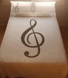 Pinterest Piano bed sheets!