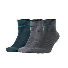 15577dd8acf12 3 PK Nike Dri-fit Fly Rise Cushioned Quarter Socks Sx5137 900 Mens Sz L  8-12 for sale online | eBay