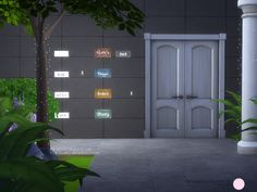 Entrance Lighting Set by DOT at TSR • Sims 4 Updates