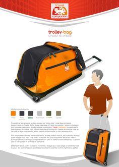Travel Companion -Cradle to cradle project by Stefan-Andrei Ferencz, via Behance