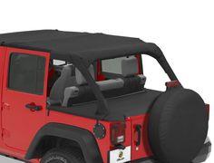 Bestop® Duster Deck™ Cover for 07-12 Jeep® Wrangler Unlimited JK 4 Door