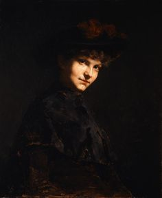 Cecilia Beaux, Ethel Page, 1884