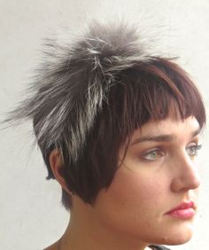 Accents from Dazzle Me! Also worn as a headband