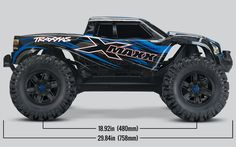 Vehicle modification or electronic failure can result in a short circuit. Source: Traxxas Recalls X-Maxx Monster Trucks and Electronic Speed Controls Due to Fire Hazard Rc Remote, Remote Control Cars, Radio Control, Drones, Traxxas 4x4, Monster Track, Rc Off Road, Electronic Speed Control, Rc Radio